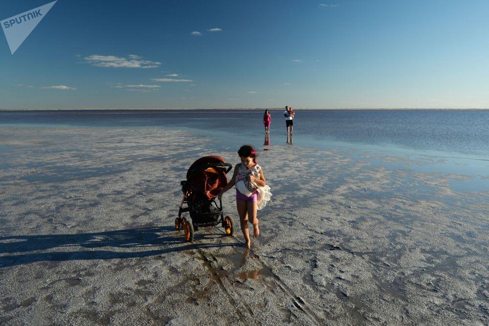 Słone jeziora w Kraju Ałtajskim