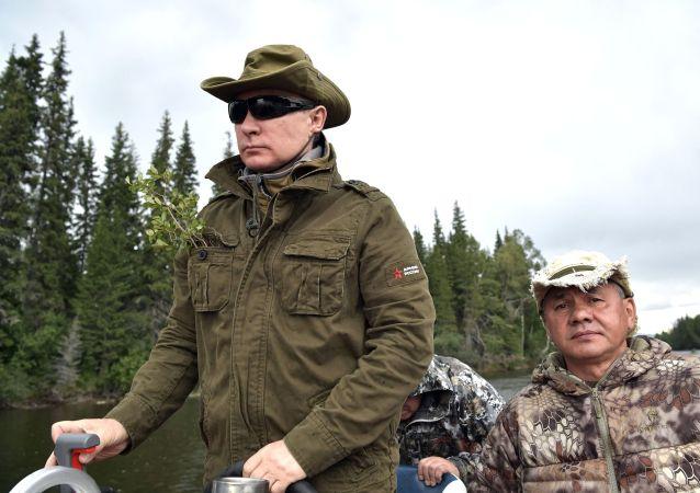 Prezydent Rosji Władimir Putin na urlopie