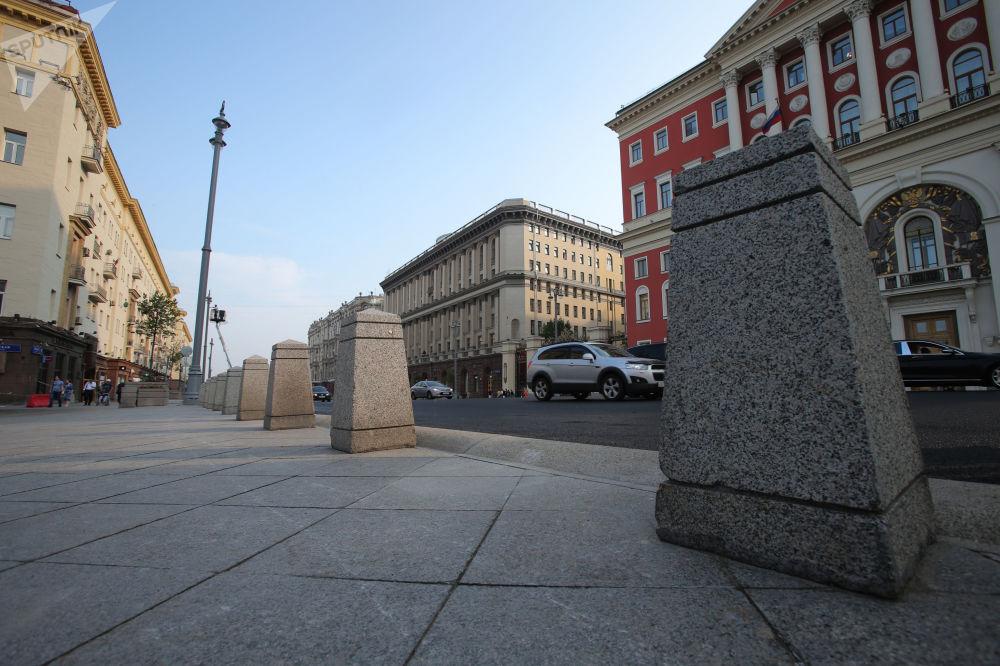 Ulica Twierskaja po rekonstrukcji