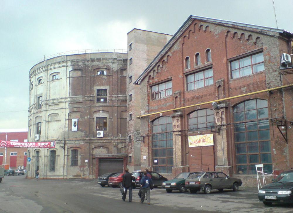 Moskiewska gazownia w 2009 roku
