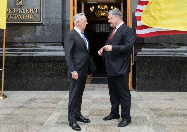 James Mattis w Kijowie