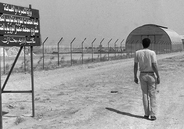 Archiwalne zdjęcie miejsca, w którym Egipt planuje budowę elektrowni