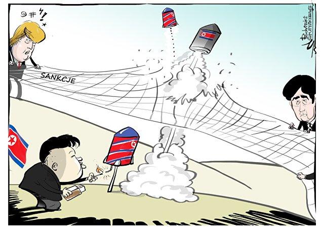Korea Północna przeprowadziła kolejną próbę rakietową