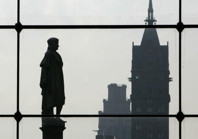 Pomnik Krzysztofa Kolumba w Nowym Jorku