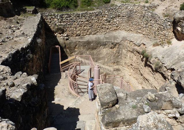 Miejsce, gdzie niegdyś istniało miasto Chasor w Izraelu