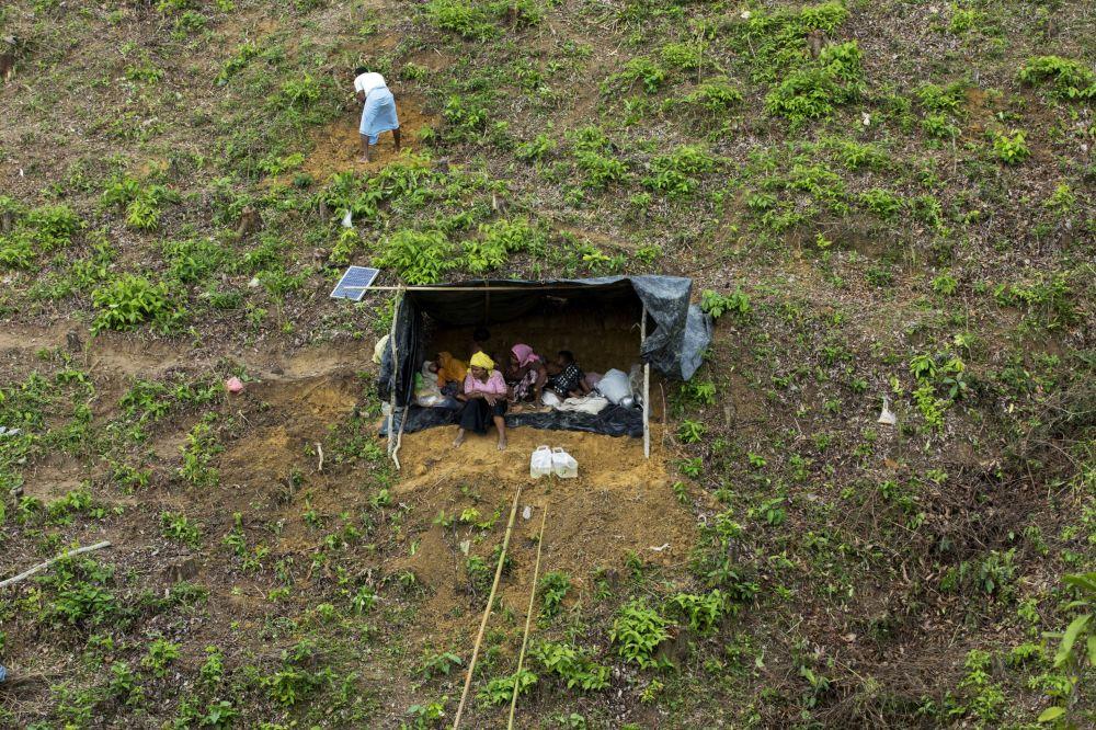 Uchodźcy Rohingya na granicy Bangladeszu i Birmy