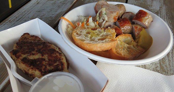 Festiwalowe menu: czeskie bramboraki i słowackie kiełbaski