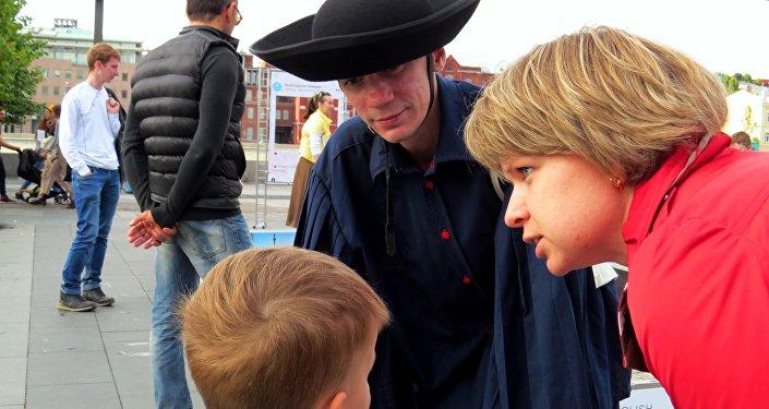 Organizatorzy zadbali też o najmłodszych uczestników Festiwalu
