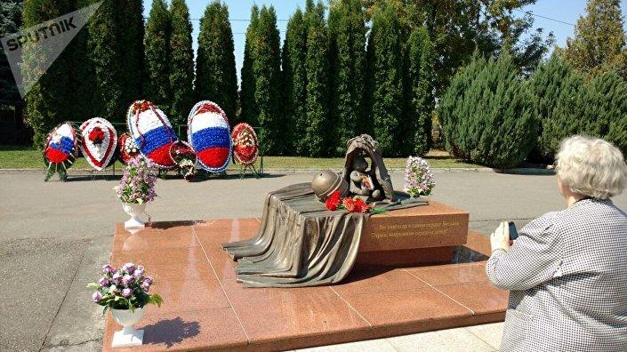 Miasto Aniołów - pamiątkowy cmentarz w Biesłanie