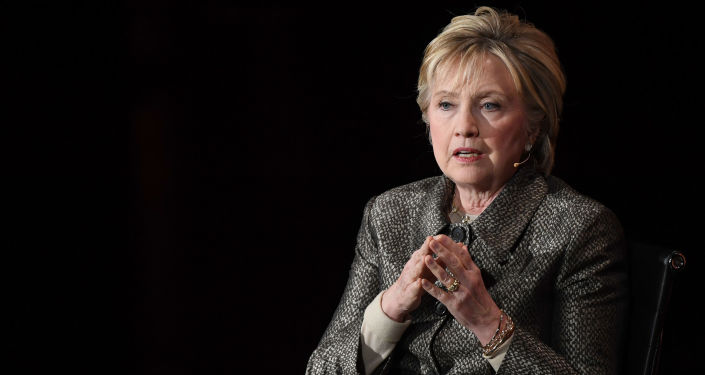 Amerykańska polityk Hillary Clinton