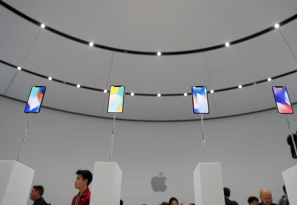 Prezentacja iPhone X w Kalifornii