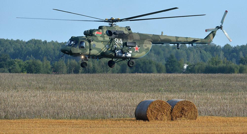 Śmigłowiec Mi-8 Sił Powietrznych Białorusi