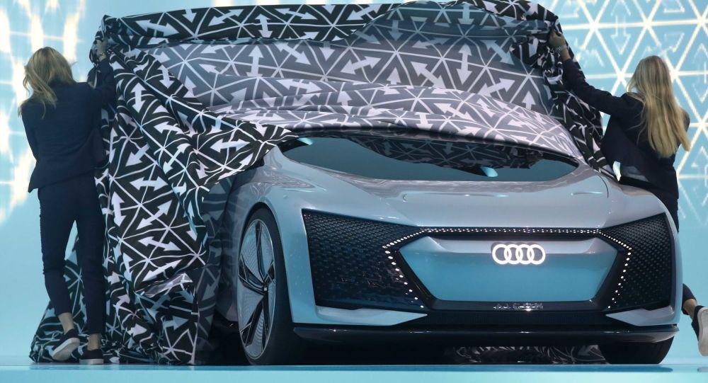 Audi Aicon na Międzynarodowym Salonie Motoryzacyjnym we Frankfurcie