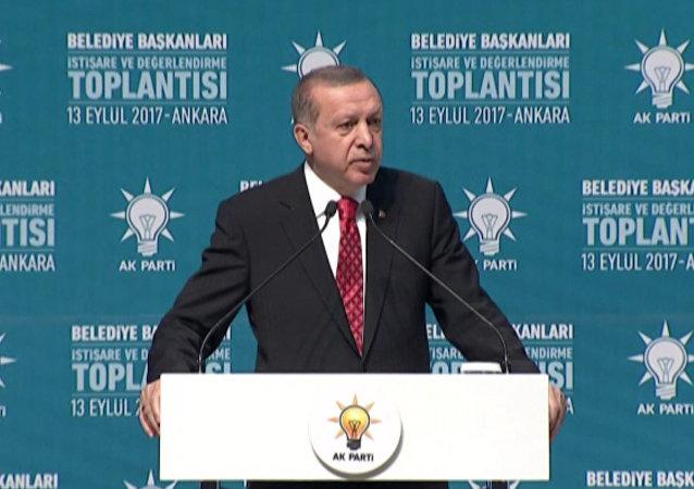 Przemówienie Erdogana