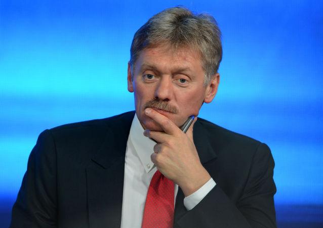 Rzecznik prasowy prezydenta Rosji Dmitrija Pieskowa