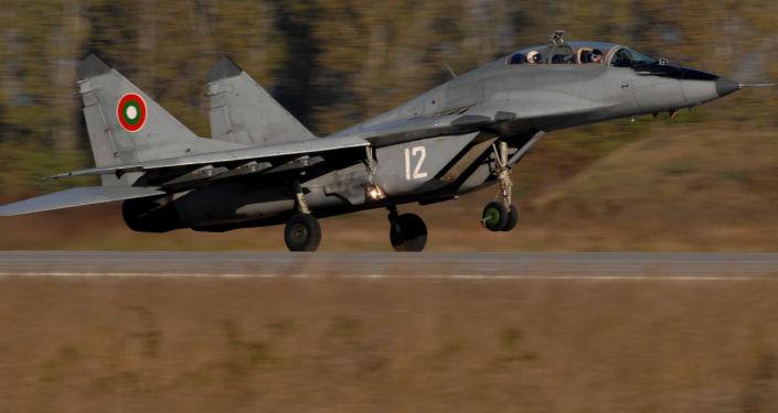 Samolot MiG-29 sił powietrznych Bułgarii