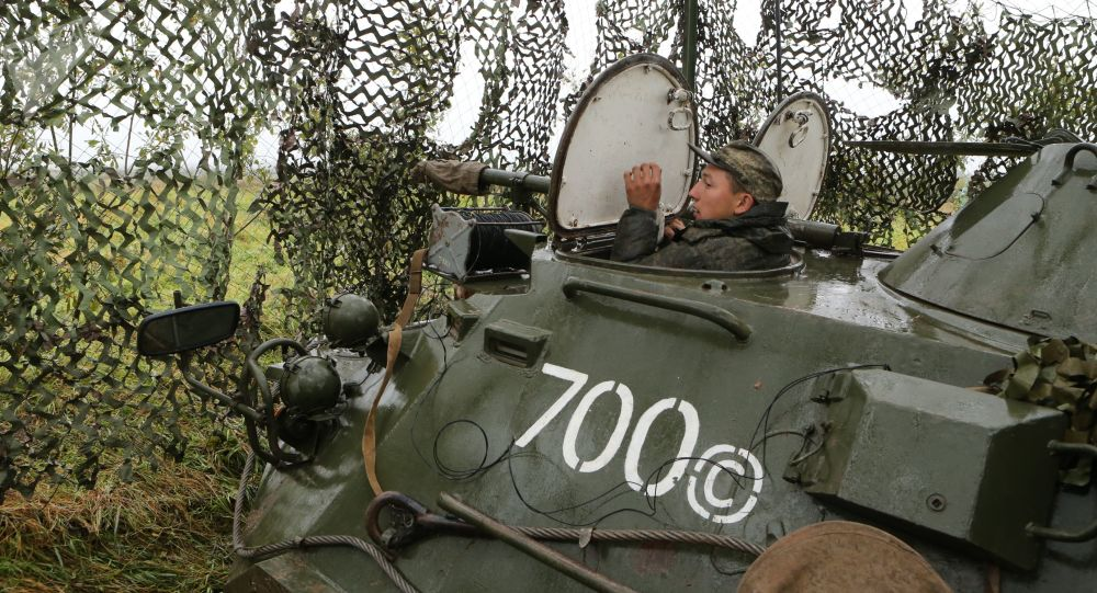 """Ćwiczenia wojskowe """"Zapad 2017"""" w obwodzie kaliningradzkim"""