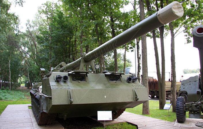 """203-mm samobieżne działo 2S7 """"Pion"""""""
