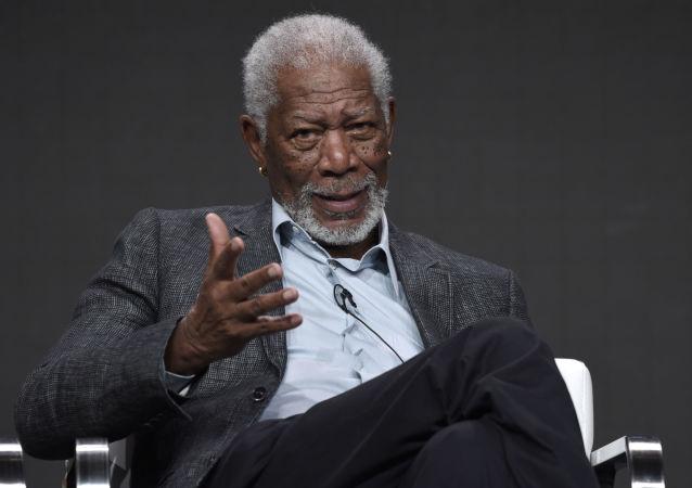 Amerykański aktor Morgan Freeman