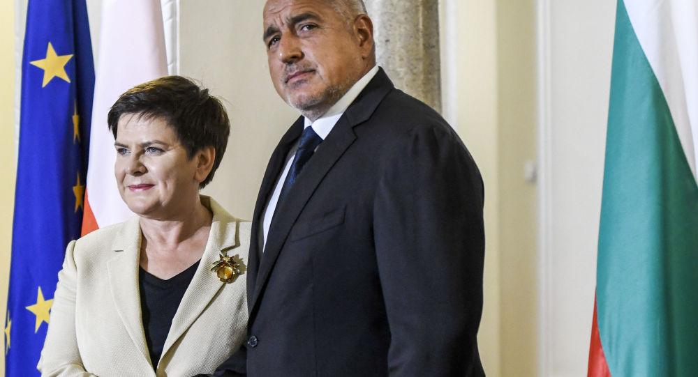 Premier Polski Beata Szydło i premier Bułgarii Bojko Borisow