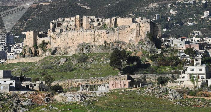 Na drodze z Hamy do Tyszrin w Syrii