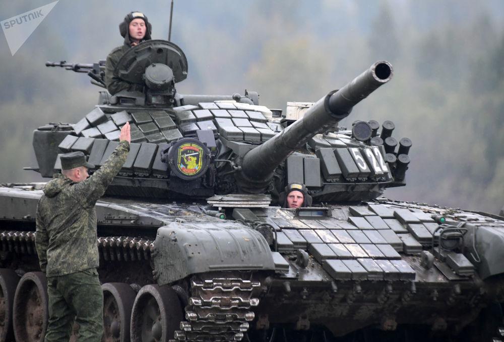 Rosyjsko-białoruskie ćwiczenia wojskowe Zapad 2017 w obwodzie mińskim