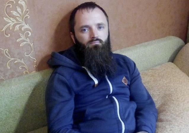 Aresztowany lider Państwa Chrześcijańskiego Aleksander Kalinin