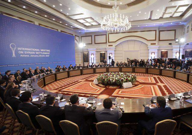 Rozmowy ws. Syrii w Astanie