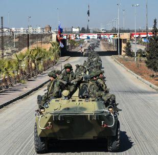 Rosyjskie wojska w Syrii
