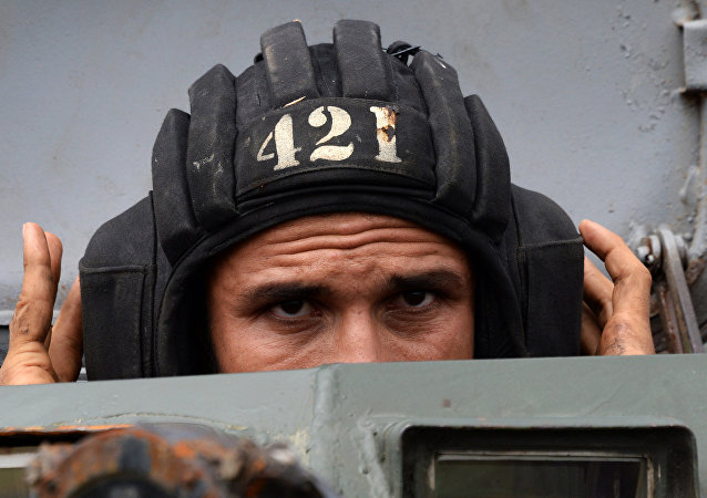 Irański żołnierz
