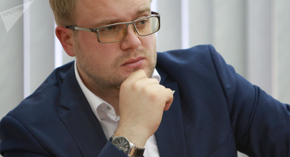 Minister polityki wewnętrznej, informacji Republiki Krymu Dmitrij Połoński
