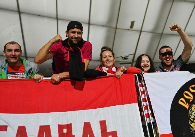 Kibice klubu piłkarskiego Spartak