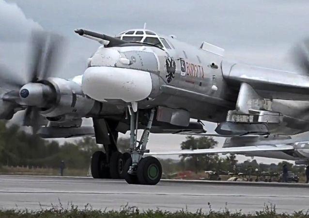 Rosyjski bombowiec strategiczny TU-95MS