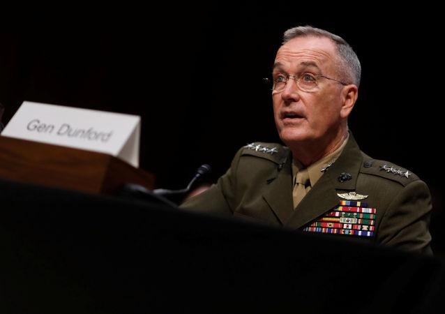 Przewodniczący Kolegium Połączonych Szefów Sztabów generał Joseph Dunford