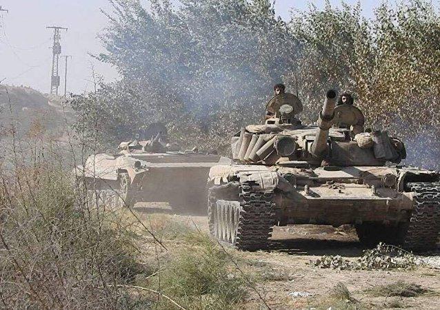 Syryjska armia toczy walki na południowym wschodzie Dajr az-Zaur