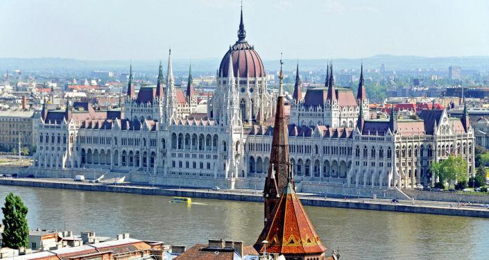 Budynek węgierskiego parlamentu w Budapeszcie