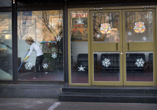 Północnokoreańska restauracja w Pekinie