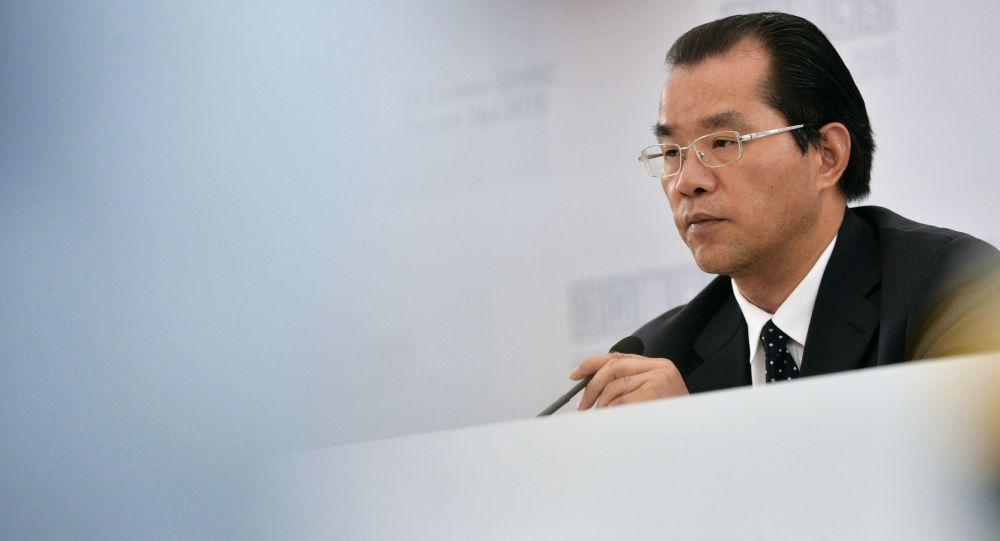 Pełniący obowiązki dyrektora Departamentu Europy i Azji Środkowej Ministerstwa Spraw Zagranicznych ChRL Gui Qingyu
