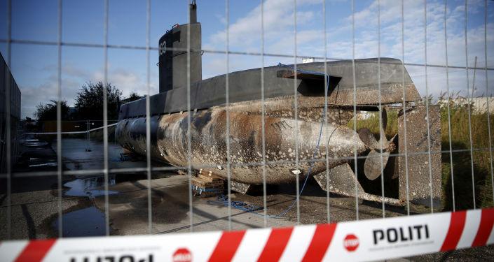 Prywatna łódź podwodna Nautilus zatopiona w pobliżu Kopenhagi