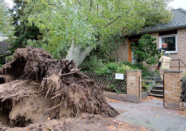 Śmiertelne żniwo sztormu Xavier w Niemczech