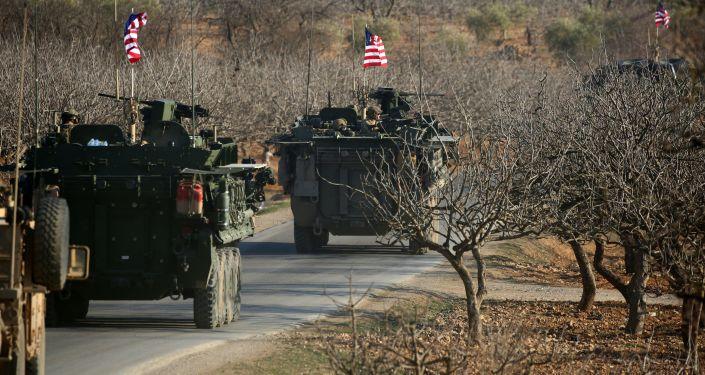 Siły amerykańskie w Syrii