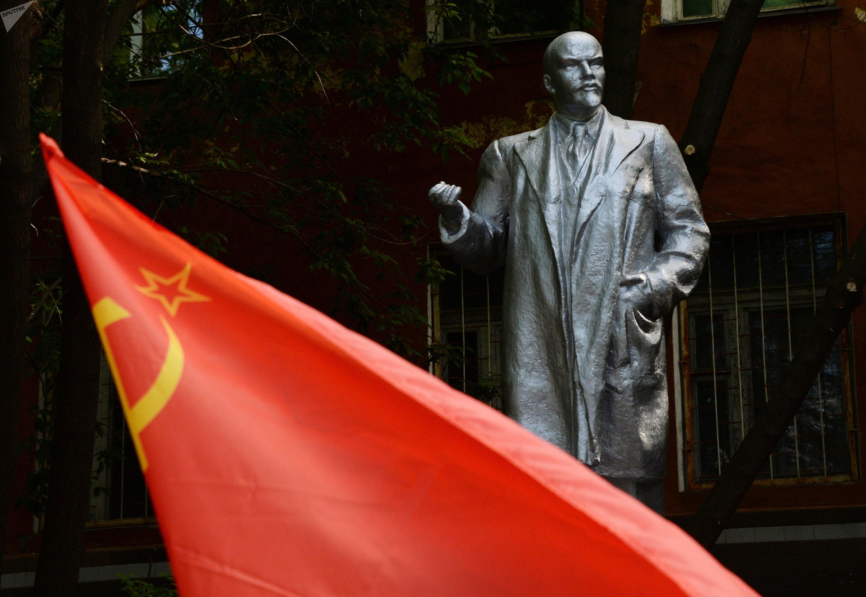 Pomnik Lenina we Władywostoku