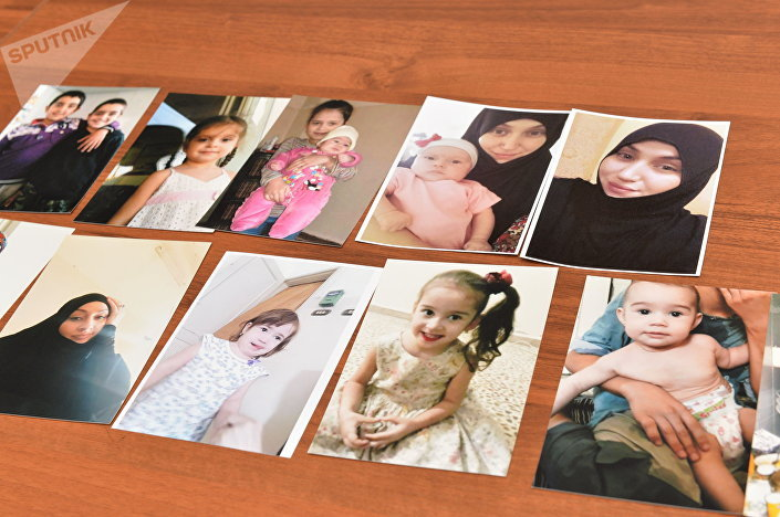 Zdjęcia zaginionych córek i wnuków Fatimy