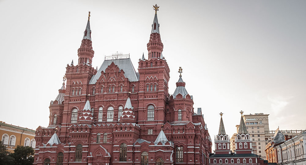 Moskwa oczami polskiego dziennikarza. Muzeum Historyczne