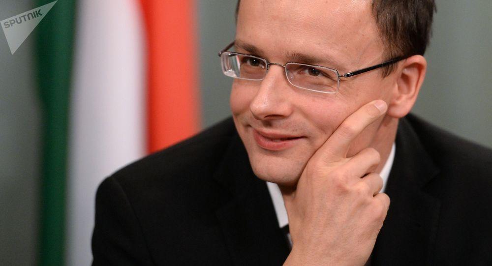 Szef MSZ Węgier Péter Szijjártó