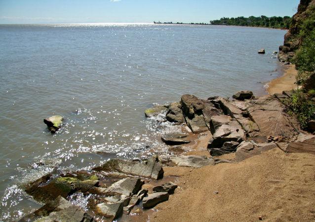 Jezioro Hanka w rejonie hakajskim Kraju Nadmorskiego