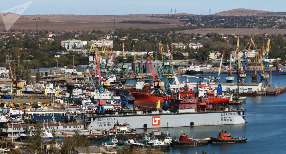 Port w Kerczu