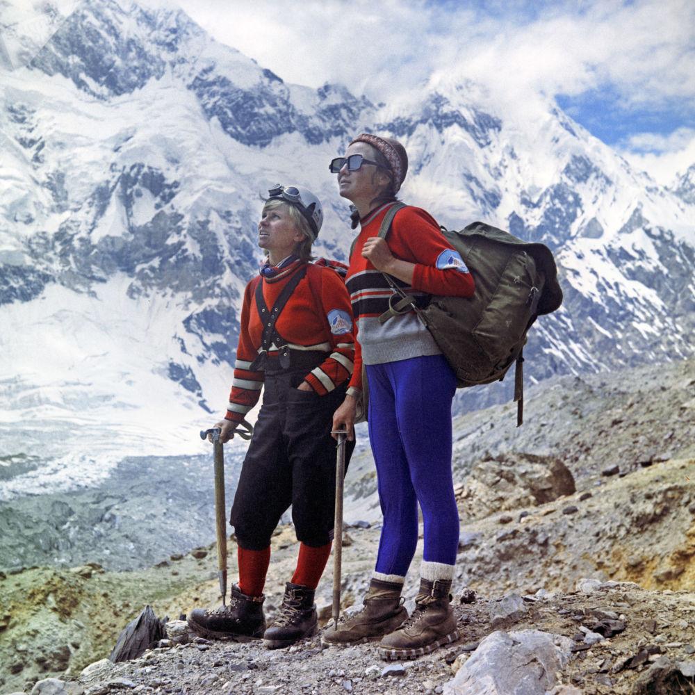 Alpiniści na Pamirze, 1972 rok