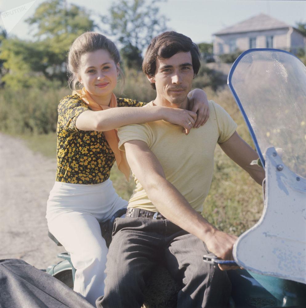 Mieszkańcy wsi Juca w Stawropolu, 1979 rok