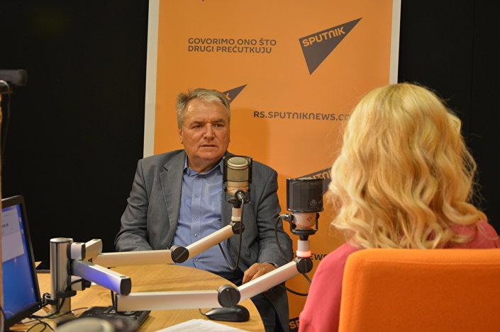 Srecko Djukic, serbski dyplomata, który pracował w ZSRR, Rosji i Białorusi, autor książek o przestrzeni postsowieckiej i współczesnej historii Bałkanów